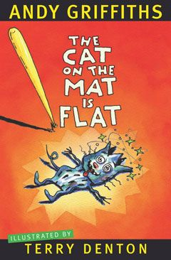 The Cat On The Mat Is Flat; I absolutely love this book and got it in Charlevoix. It is hilarious and I have one of the poems memorized. It is really short.