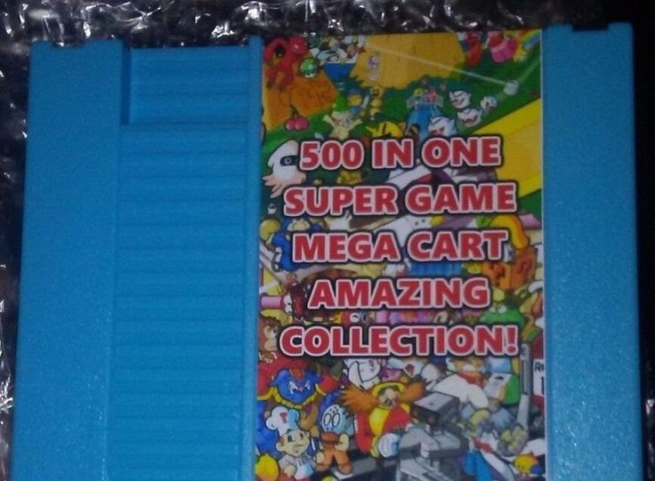 NES Games Collection 500 in 1 Classic Nintendo System Video Games Cartridge
