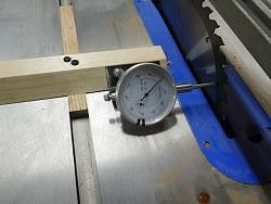 Table Saw Dial Indicator by Redwoods -- Checking the blade on my new table...