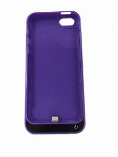 iphone 5 5c 5s and SE model charging power case available with 2200mAh of power
