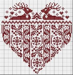 kreinik free patterns | Free Cross-Stitch Patterns for Christmas