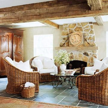 These casual family rooms illustrate many style options--all designed for relaxing. Browse through our photos to find ideas for decorating your family space!