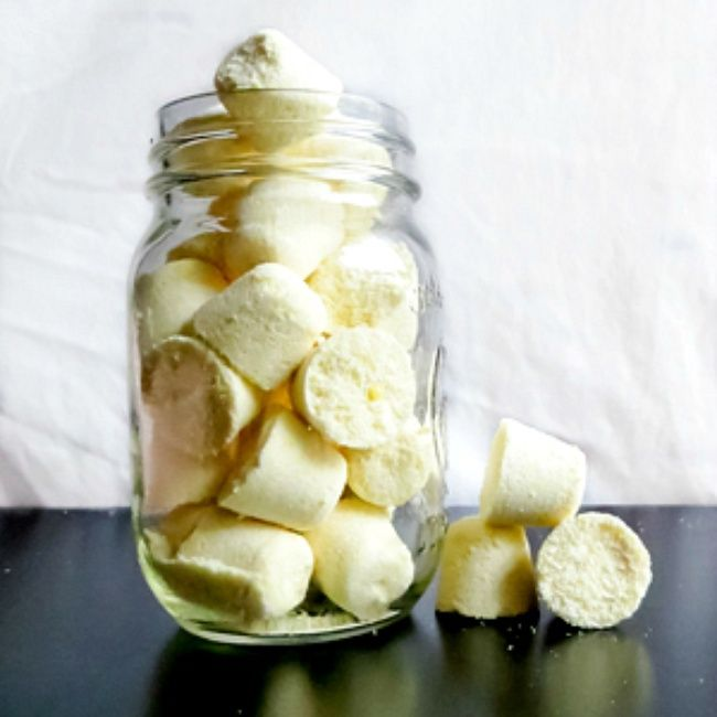 Homemade Laundry Detergent Tablets...can be used in high efficiency front load washers