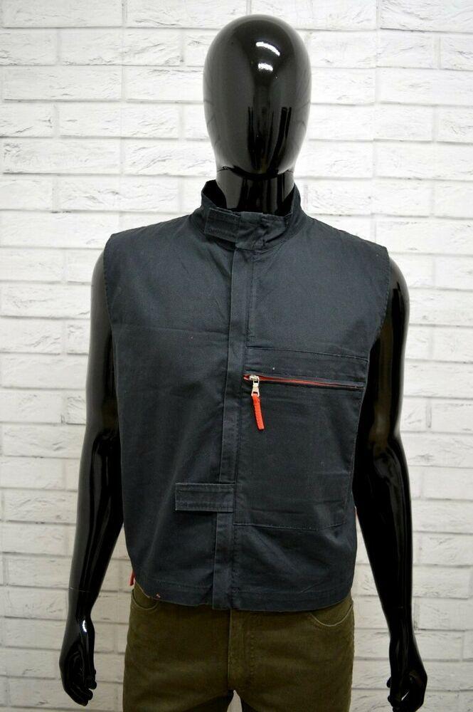 on sale 43d44 b2a6e Giacca PRADA Uomo Taglia Size M Giubbino Giubbotto Smanicato ...