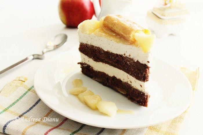Tort cu mere si caramel | Pasiune pentru bucatarie