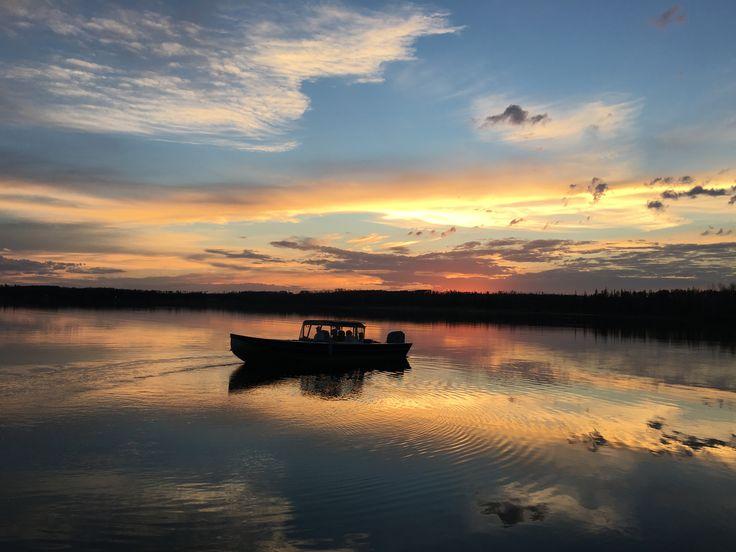 Sunset on Lac La Ronge
