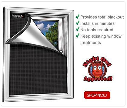 Blackout window covers, instant darkroom for photography or day sleepers.  man I need some of these I love a nice dark room sometimes even during the day. makes for nice naps even for kids.