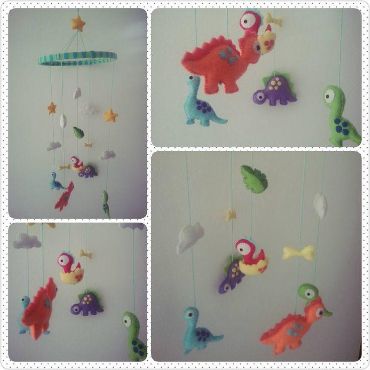 #baby mobile #dinosaurios #dinosaurs
