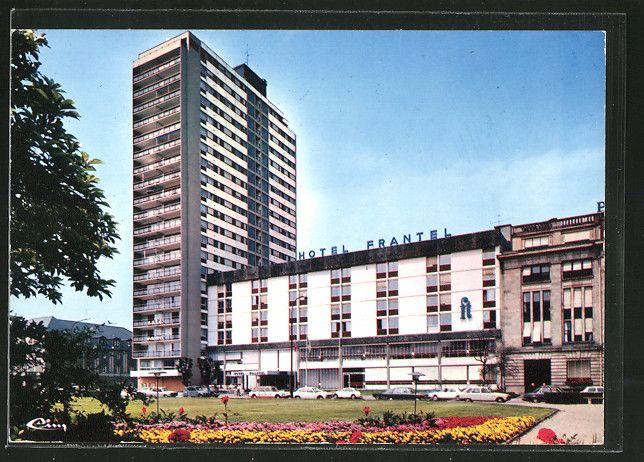 carte postale ancienne: CPA Mulhouse, Hotel Frantel