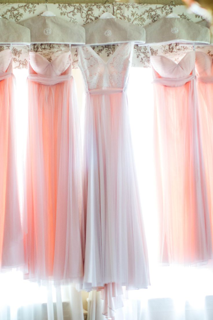 Amy Allen Photography. Bridesmaid dresses, blush pink, Washington DC