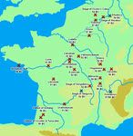 Battles and Sieges of the Gallic War (58-51 B.C)