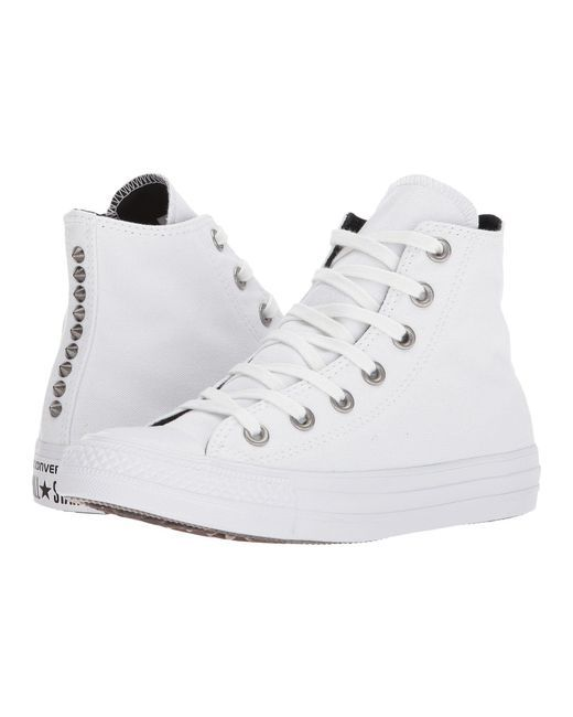Lyst Converse Wo Sneakers Chuck Taylor All Star Hi in White