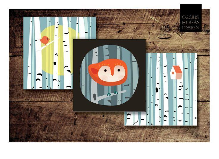 cecilie-design: New cards. Nye julekort er på vei!
