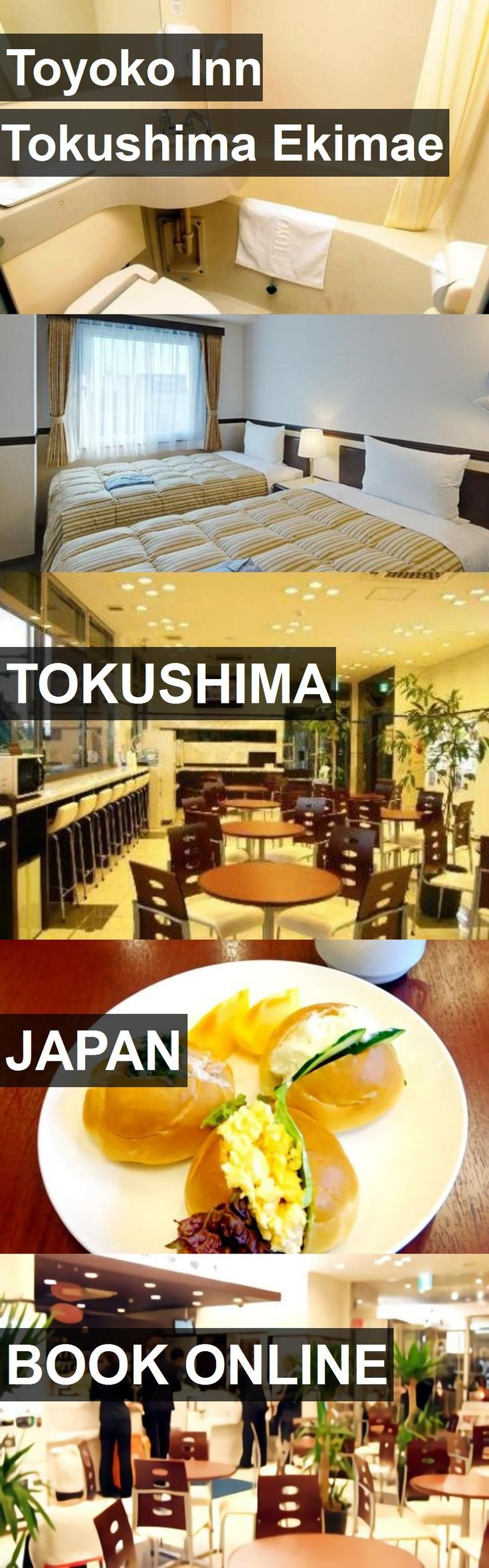 Hotel Toyoko Inn Tokushima Ekimae in Tokushima, Japan. For more information, photos, reviews and best prices please follow the link. #Japan #Tokushima #travel #vacation #hotel