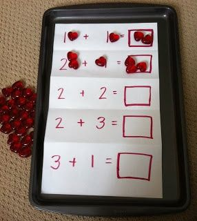Practice early addition in a fun way with this activity. Great for Kindergarten age!