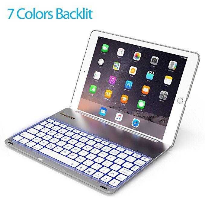 Amazon Com Keyboard Case For 2017 Ipad 9 7 Inch 5th Gen Ipad Air 2018 New Ipad 6th Gen Backlit Blu Keyboard Case Bluetooth Keyboard Bluetooth Keyboard Case