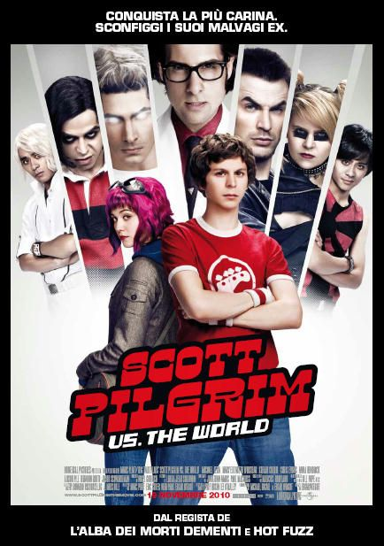Scott Pilgrim vs. the World, in onda sabato 25 agosto alle 10:00  su Premium Comedy.