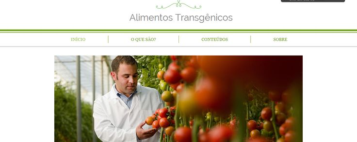 This is my website to Foods Project. It talk about Transgenic food and the consequences of this in the world.