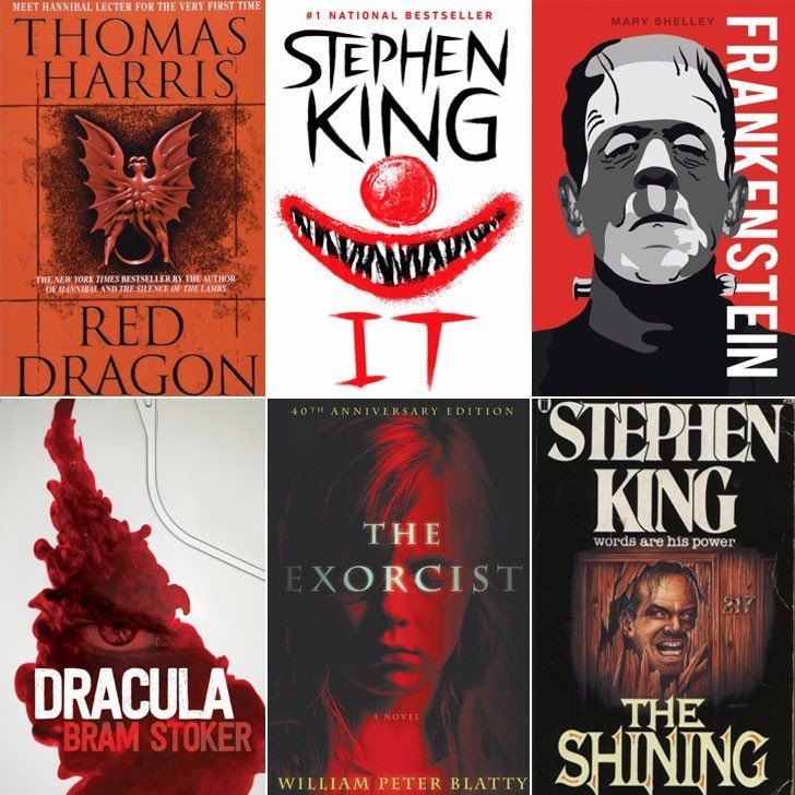 Just in Time For Halloween, Here Are the 20 Most Popular Quotes From Iconic Horror Novels: Horror movies might get all of the shine come Halloween, but let's not forget about the bone-chilling novels that often inspire them.