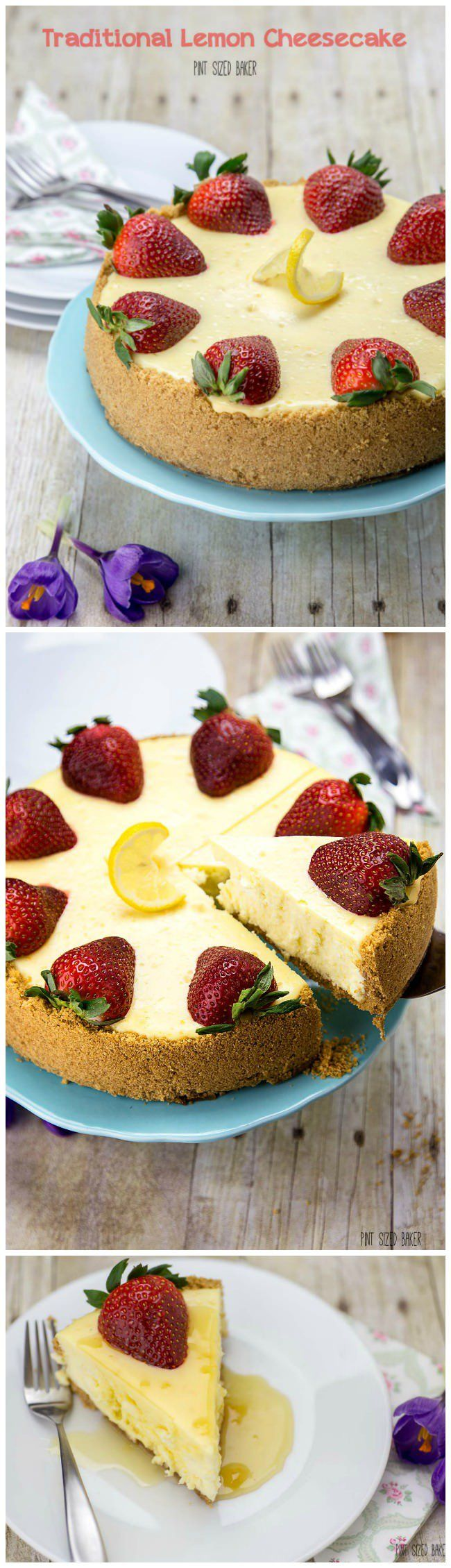 Traditional Lemon Cheesecake Recipe