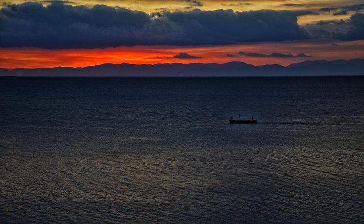 Sunset fro spanish tower . Villasimius. by Dandy Matt on 500px