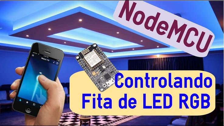 Liked on YouTube: NodeMCU (ESP8266): Fita de LED RGB e atualização via wifi (OTA) [Automação Residencial]