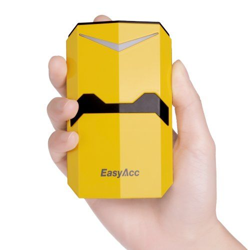 EasyAcc® Power Bank 9000mAh Bumblebee Dual USB Output Portable Phone Charger External battery pack for iPhone 5S 5C 4S, Samsung Galaxy S4 Mini S3, iPad, Samsung Galaxy Tab 3 2, Google Nexus 7 10, Bluetooth Speakers Headphone, Google Glass [3 USB output: 5V 1.0A~2.1A; Yellow] EasyAcc,http://www.amazon.com/dp/B00H94DOTE/ref=cm_sw_r_pi_dp_BXlEtb0DJRW2YVYR