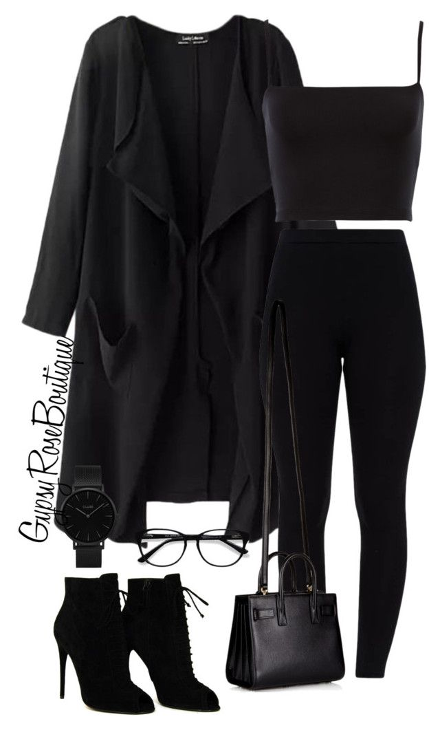 """""""#476"""" by gypsyroseboutique on Polyvore featuring Tom Ford, Yves Saint Laurent, CLUSE and EyeBuyDirect.com"""