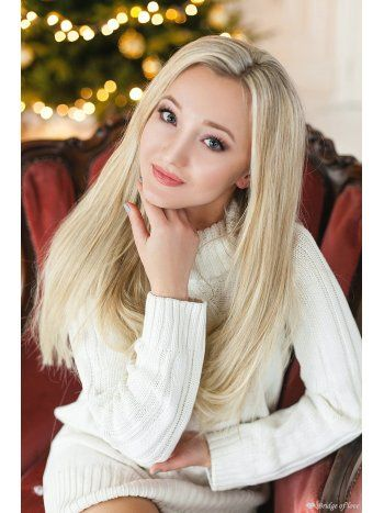 Blonde russian wife