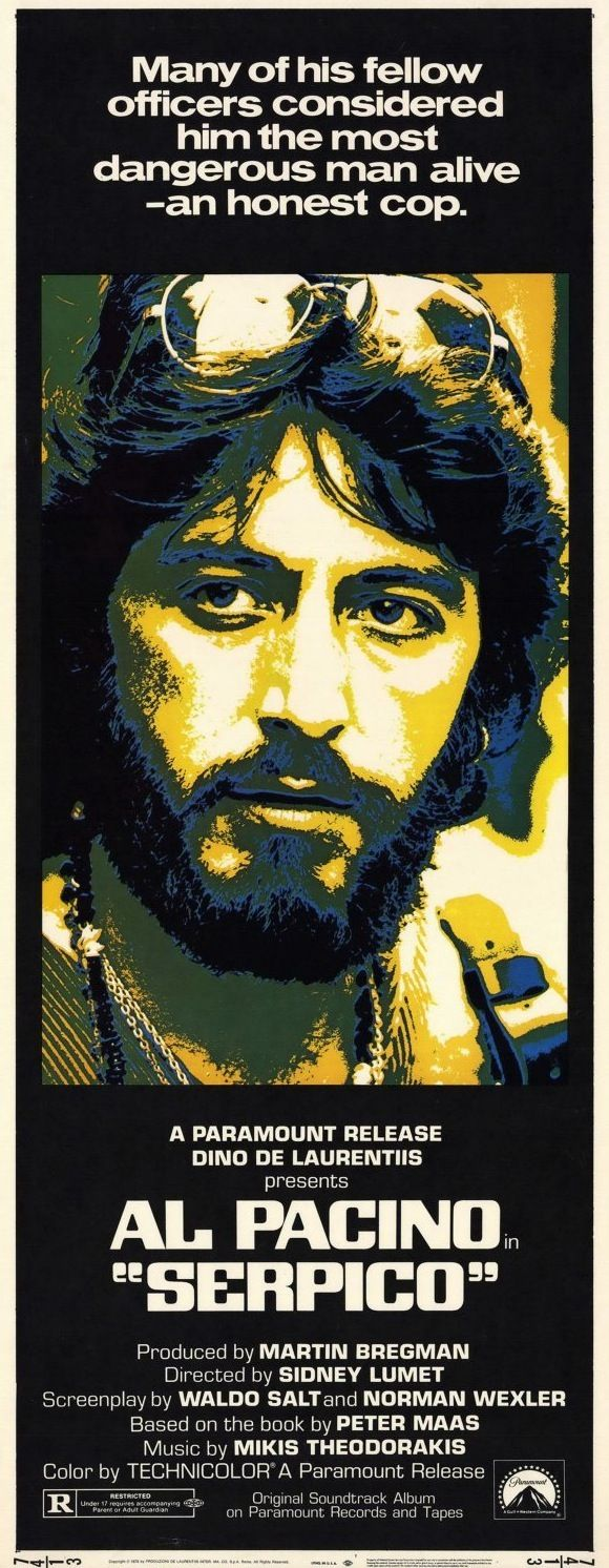 Al Pacino, Serpico, 1973 - on of his very best movies