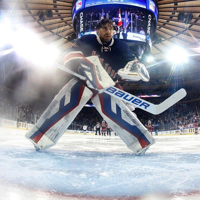Henrik Lundqvist, New York Rangers, #30 #reactor9000
