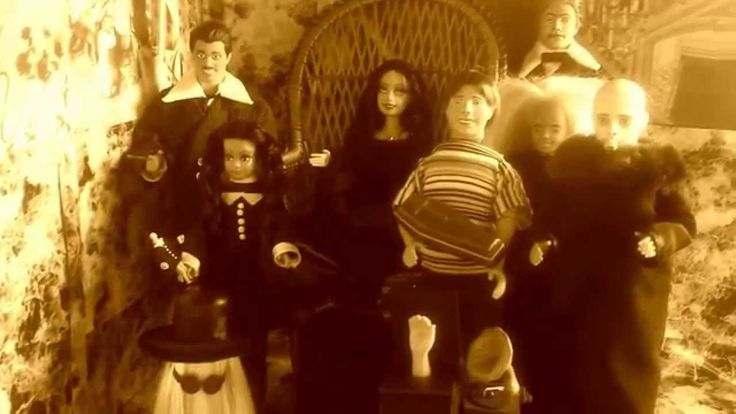 The Addams family barbie ooak UNICA one of a kind barbielegend Luna Grey...