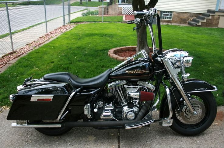 pic's of ape hangers on touring bikes? - Page 8 - Harley Davidson Forums