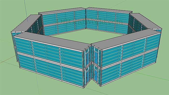 Solar Powered Aquaponics Greenhouse Makes Year Round Growing Possible – Here's another Off Grid World original design concept. It's a modular aquaponics greenhouse made from converted recycled shipping containers. Each of the shipping containers are converted into mini-greenhouses which also makes the whole thing portable. A large pond (fish tank) is constructed in the ground, …