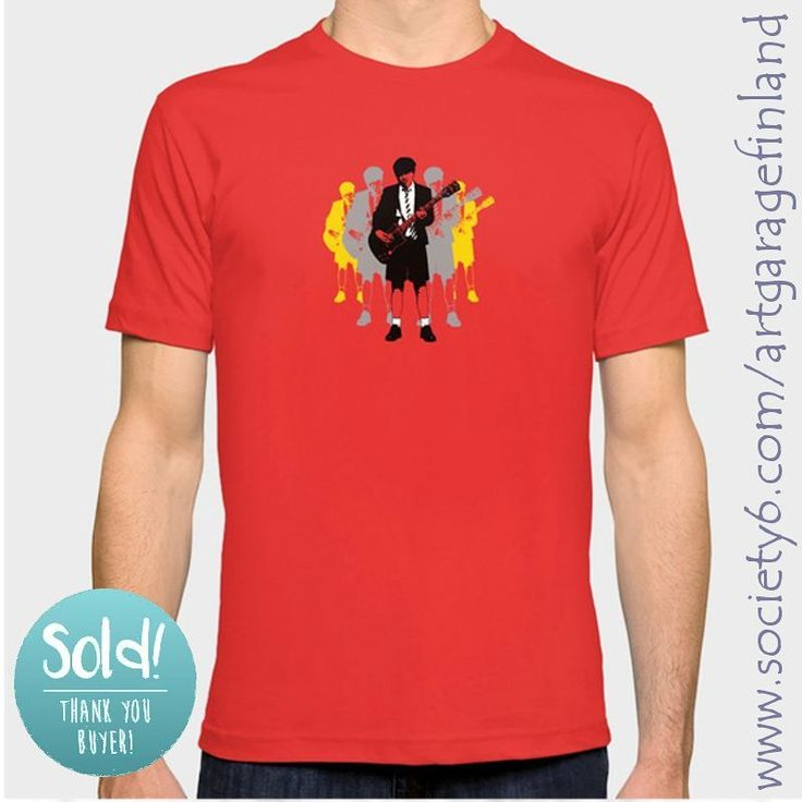 Sold!!!..thanks to the buyer of this 'Taking the Lead - Angus Young' pop-art t-shirt design at my @Society6 webshop. #society6 #sold #shareyoursociety6 #acdcfans #angusyoung #popart #thankyou #giftideas #musicfan #rock #angus #acdc #instaacdc #guitarists #rocklegends #art #design #highwaytohell  #art #instaart #artist #artistsofinstagram #instalike #instalikes #artcollection #artcollectors #gallery #instaartist #artist_sharing #artnerd #artsy