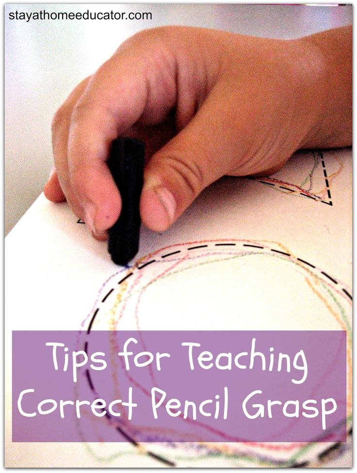 Tips for Teaching Correct Pencil Grasp - Pinned by @PediaStaff – Please Visit ht.ly/63sNtfor all our pediatric therapy pins