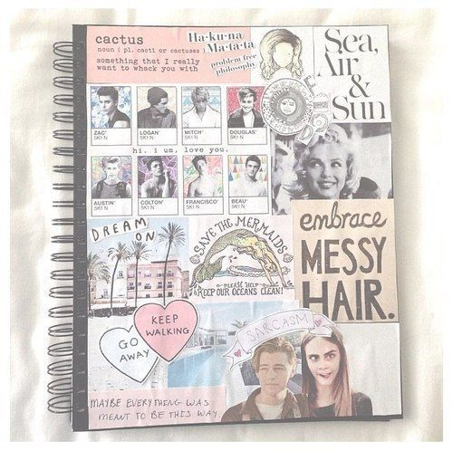 Hollywood   DIY Tumblr Inspired School Supplies for Teens that will spice up your school day!