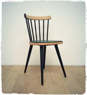 """Chaise Vintage Baumann """"740"""" Revisitée"""