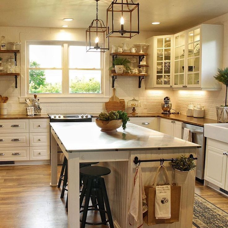 YES To The Coziness That This Kitchen Is Displaying! It Warms Our Heart And  Tummies!