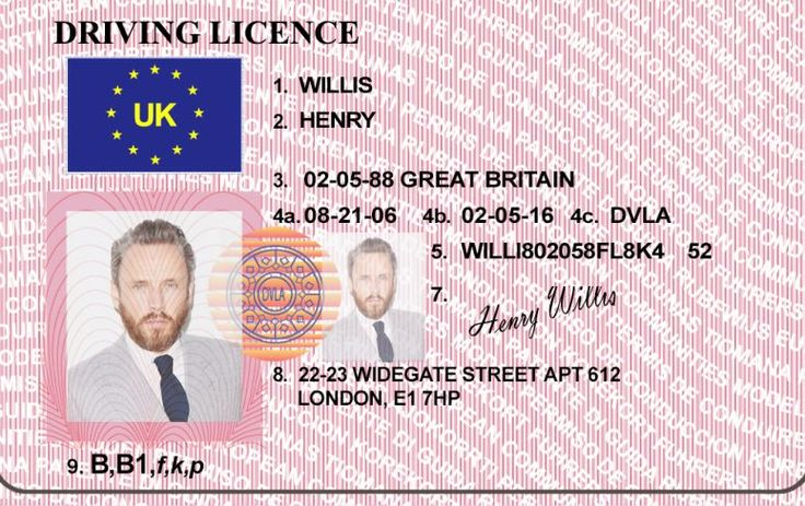 16 best custom holograms images on pinterest business for Fake driving licence template