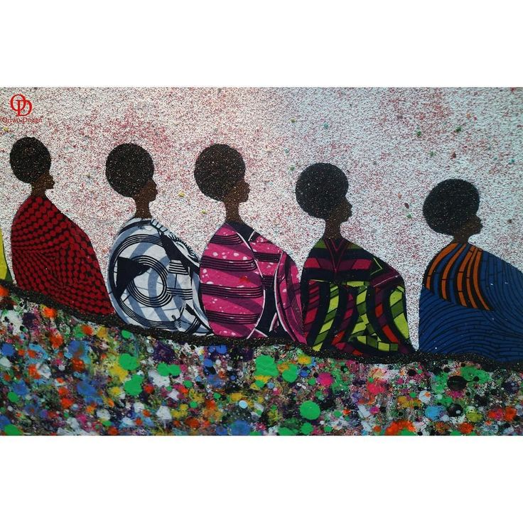 Behind a successful woman is a tribe of other successful women who have her back. This is a work of Art by Lune Ndiaye from Senegal who uses sand & African print fabric to create such amazing pieces. . . . . . . . .  #oriwodesign #hamburg #art #artwork  #iloveart #painting #kunst #kunstwerk #artfair #africancontemporaryart #africanprint #exhibition #africanart #artgallerie #modernart  #artlover #blogger_de #lifestyleblogger_de #lifestyleblog #artgallery #naturalhair #Kunstausstellung…