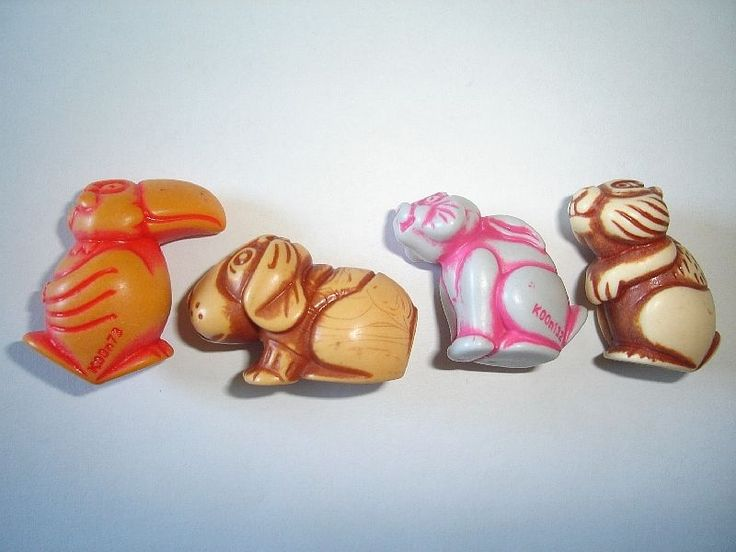 Kinder surprise STONE FIGURINES ANIMALS TOTEMS 1998