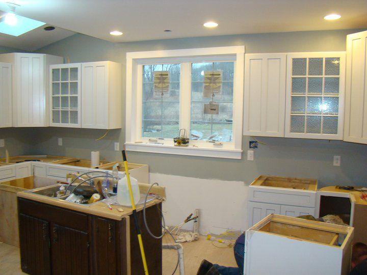 Gray Cabinets Kitchen Kohler Faucets Coastal Jetty By Valspar | Diy Home Projects Pinterest ...