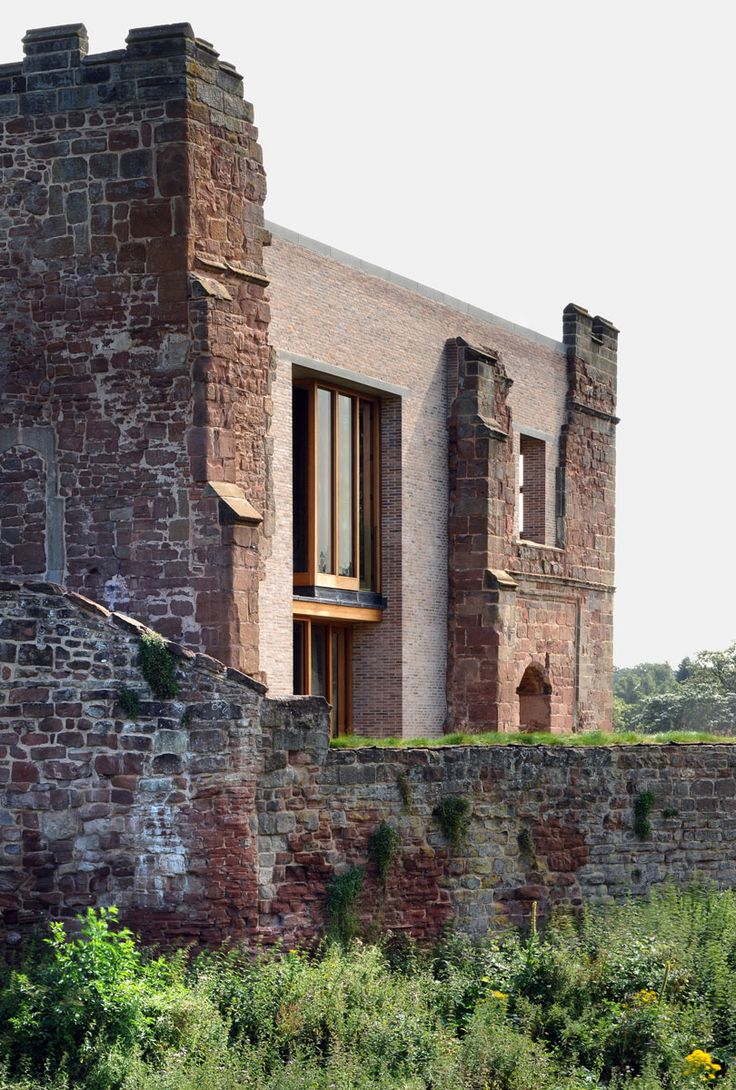 Delightful Astley Castle Renovation WITHERFORD WATSON MANN ARCHITECTS Astley, United  Kingdom
