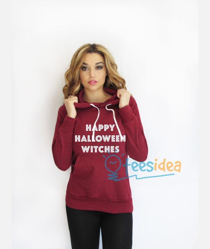 Happy Halloween Witches Hoodies Adult Unisex Men and Women Size S-3XL - Get 10% Off!!! - Use Coupon Code 'TEES10'