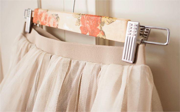 Mi primera máquina de coser: Diy: Falda de tul