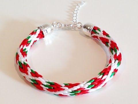 ▶ Strawberry kumihimo braid - YouTube