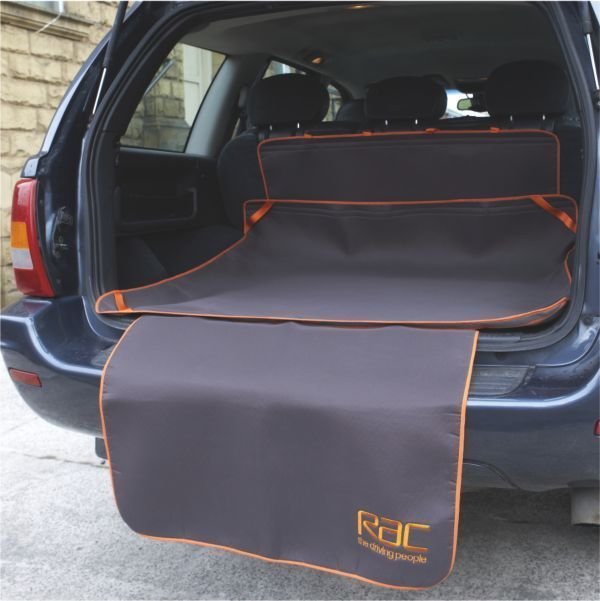 Heim RAC Kofferraummatte mit Stoßstangenschutz Autoschutz Stoßstangenschutz Hund