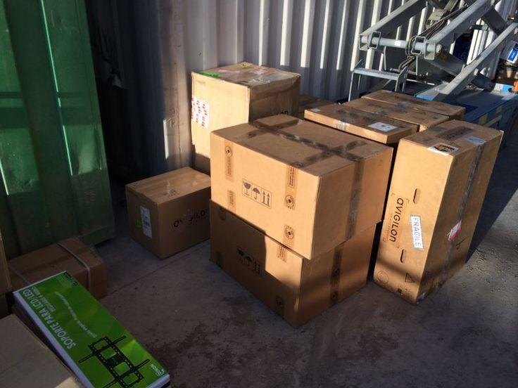 Avigilon en Chile Despachos a nuestros clientes