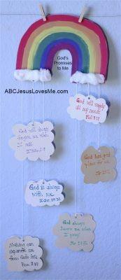 """God's Promises to Me"" Craft  ABCJesusLovesMe.com"
